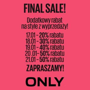 Final sale w Only
