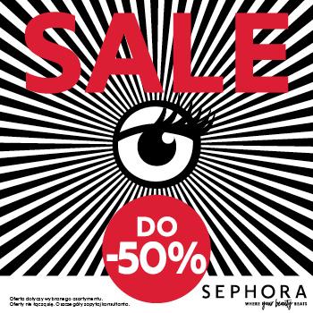 WYPRZEDAŻ W SEPHORA – Setki produktów nawet do 50% taniej!