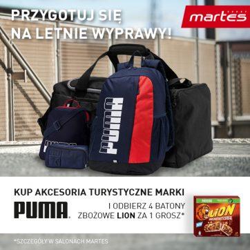 Promocja Puma/Lion w Martes Sport