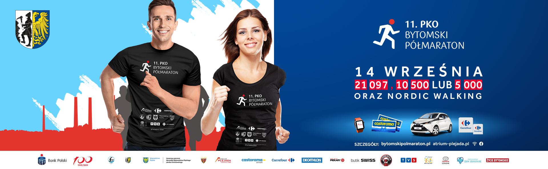 11. PKO Bytomski Półmaraton ponownie w Atrium Plejada