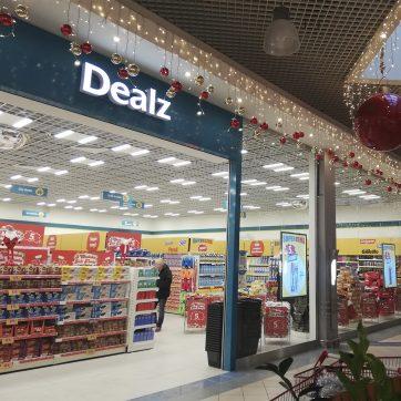 29.11.2019 r. w Atrium Plejada rozpoczął działalność sklep Dealz!