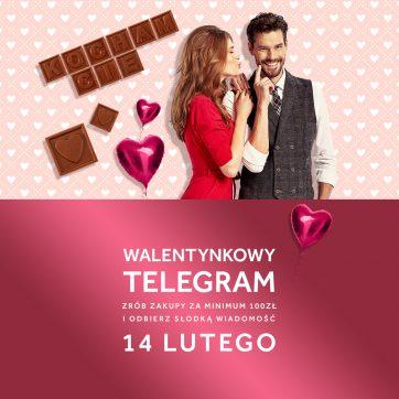 """""""Walentynkowy Telegram"""" w Atrium Plejada"""