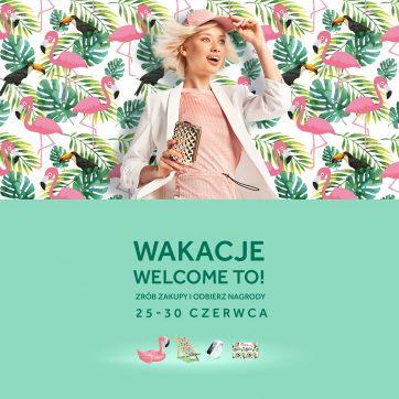 """Atrium Plejada z akcją """"Wakacje welcome to!"""""""