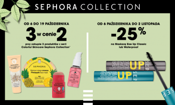 Odkryj aktualne oferty marki Sephora Collection