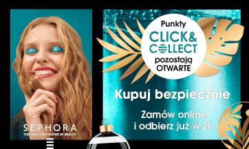 CLICK&COLLECT w SEPHORA – zamów online i bezpiecznie odbierz w 2h