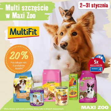 Miesiąc z marką MultiFit!🛍💕