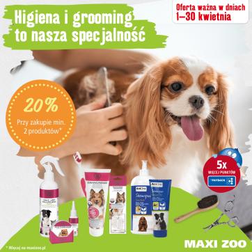 Maxi Zoo – Akcja pielęgnacja