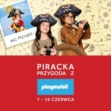 Wystawa piracka Playmobil w Atrium Plejada
