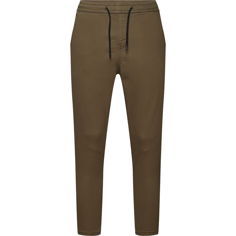 DIVERSE - spodnie khaki z obniżonym krokiem