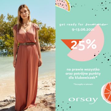 Get ready for summer – Orsay