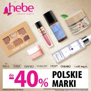 POLSKIE MARKI DO 40% TANIEJ
