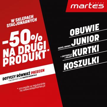 -50% NA DRUGĄ KOSZULKĘ